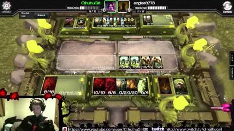 Infinity Wars Constructed Warpath vs. Eagles3773