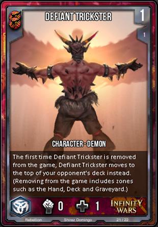 REBELLION Defiant Trickster