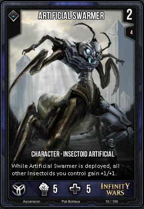 ASCENSION- Artificial Swarmer