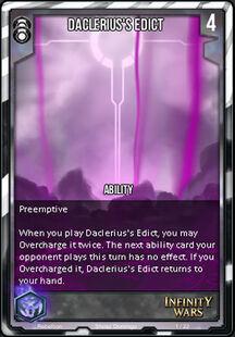 Daclerius's Edict