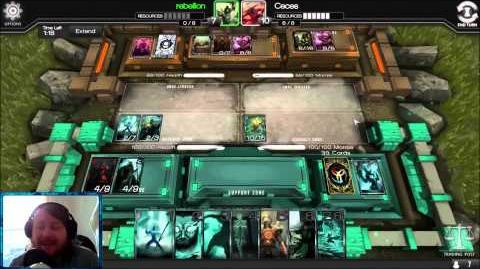 Infinity Wars Shoutcast Ceces vs Rebellion