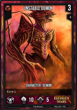 RISE- Unstable Demon