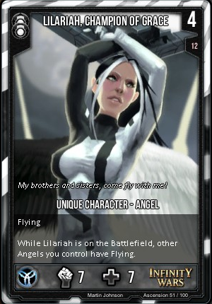 ASCENSION- Lilariah, Champion Of Grace