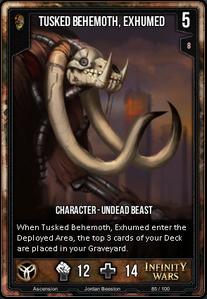 Tusked Behemoth, Exhumed