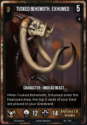 ASCENSION- Tusked Behemoth, Exhumed