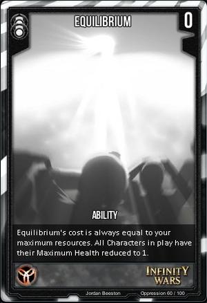 OPPRESSION- Equilibrium