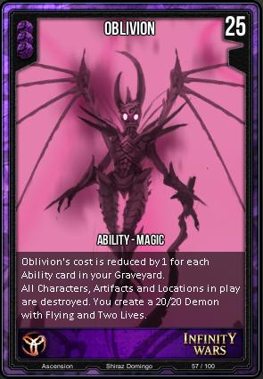 ASCENSION- Oblivion