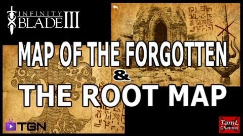 Infinity Blade 3 MAP OF THE FORGOTTEN & THE ROOT MAP!-0