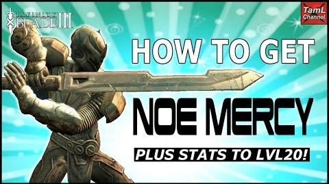 Infinity Blade 3 HOW TO GET NOE MERCY! (Plus stats to Lvl 20)