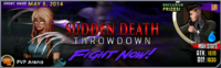 Sudden Death Throwdown