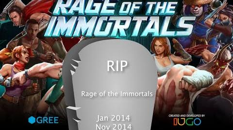Rage of the Immortals ENDS on Nov 14 & a Song to End it off.