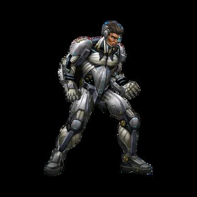 Battle ready 001 render