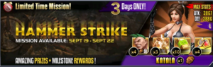 Hammer strike