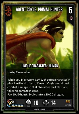 RISE AGENT COYLE PRIMAL HUNTER