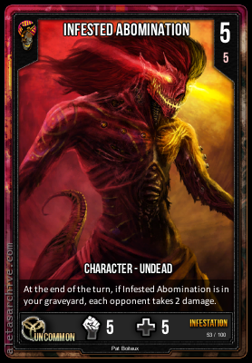 INFESTATION INFESTED ABOMINATION