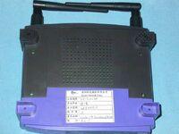 Linksys WRT54G v2.0 FCCd