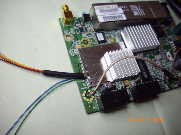 10-SNB6500 JTAG Collegamenti FINITO