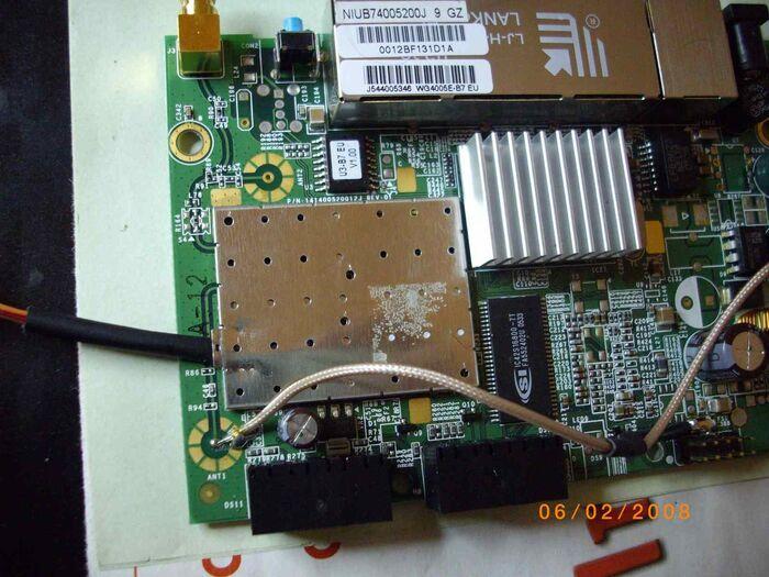 7-SNB6500 Dettaglio 1 JTAG Collegamenti