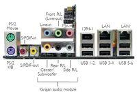 DFI LANPARTY UT NF590 SLI-M2R-G back