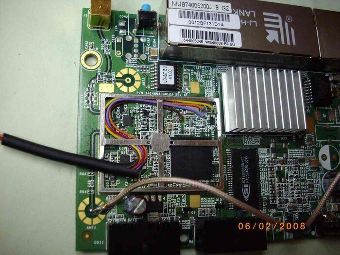 6-SNB6500 Dettaglio 1 JTAG Collegamenti
