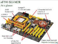 DFI LANPARTY UT NF590 SLI-M2R-G overview