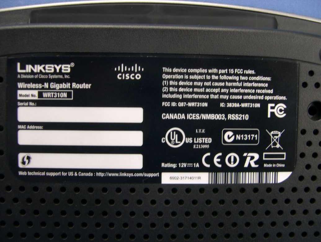 Linksys wrt310n v2 default password & login, manuals, firmwares.