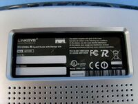 Linksys WRT350N v1.0 FCCd