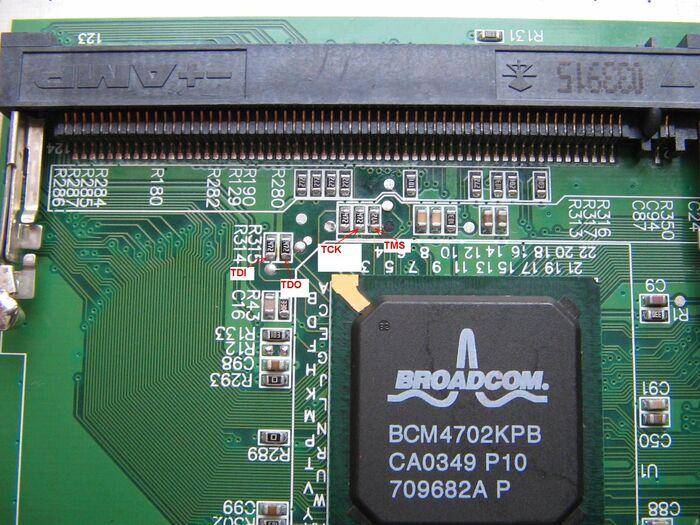 Dell tm2300 v1 jtag