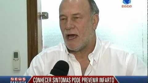 Conhecer sintomas ajuda a prevenir infarto -- Record News Paulista