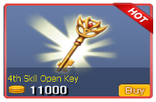4th Skill Open Key