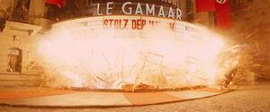 Le Gamaar explodes