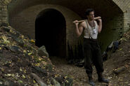 Inglourious Basterds Eli Roth photo with bat