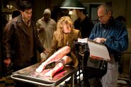Inglourious Basterds Behind the scenes Eli Roth and Diane Kruger
