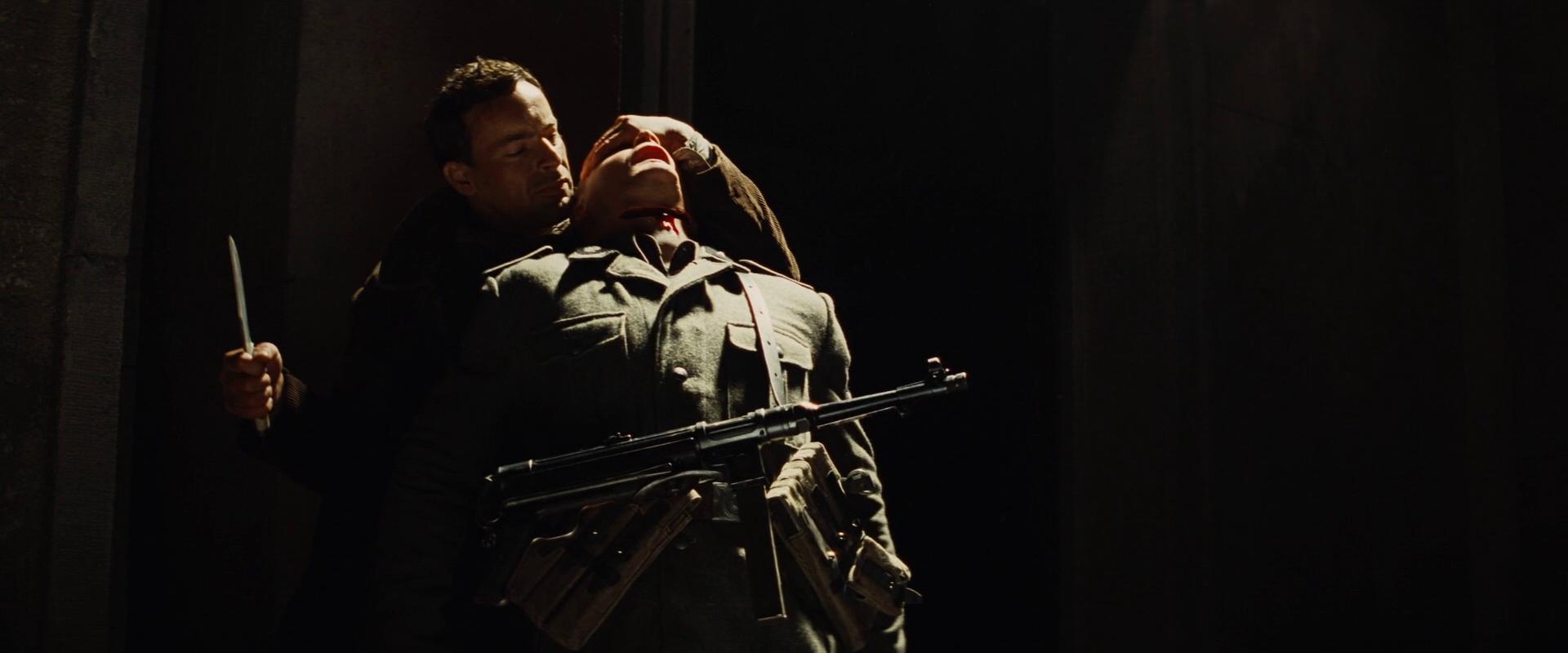 Russian Soldier Throat Cut