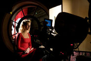 Inglourious Basterds Behind the scenes Mélanie Laurent