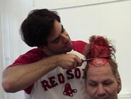 Eli Roth testing scalping behind the scenes