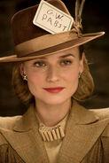 Diane Kruger card in the hat