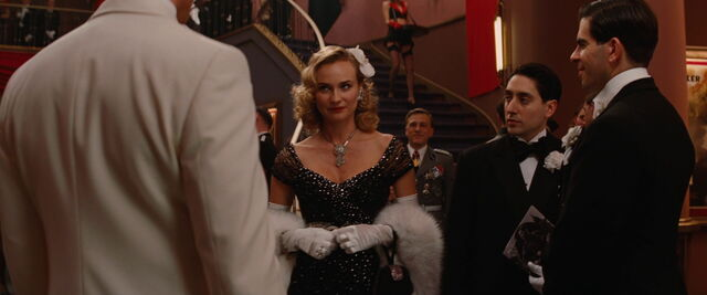 File:Bridget von Hammersmark looks at Aldo as Landa comes from behind.jpg