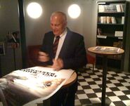 Enzo G. Castellari signing autographs