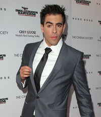 Eli Roth at Inglourious Basterds premiere