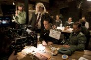 Inglourious Basterds Behind the scenes August Diehl and Til Schweiger