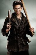 Eli Roth poster for Inglourious Basterds shotgun bat