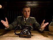 Christoph Waltz phone hands up