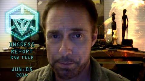 INGRESS REPORT - Raw Feed Jun 05 2014 - A message from Hank Johnson