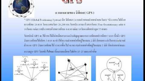 ความรู้เบื่องต้นเกี่ยวกับ GPS by D.T.C. Enterprise Co.,Lid