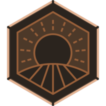 Badge OperationClearField Bronze