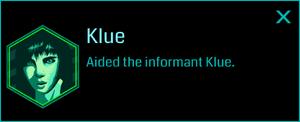 Klue (Info)