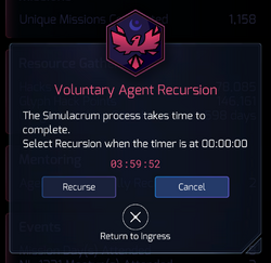 Recursion Wait