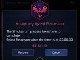 Agent Recursion