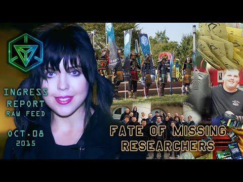 INGRESS REPORT - Fate of Missing Researchers - Raw Feed October 08 2015